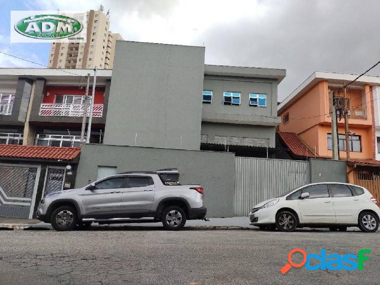 Galpão para alugar, 600 m² por r$ 8.000/mês - pirituba - são paulo/sp