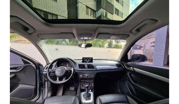 Audi q3 1.4 q3 1.4 ambiente + teto panorâmico 16/16 prata