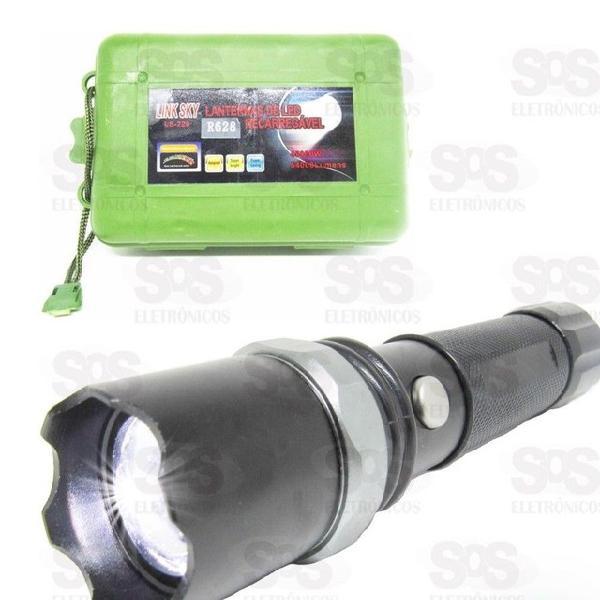 Lanterna led super brilho link sky r628