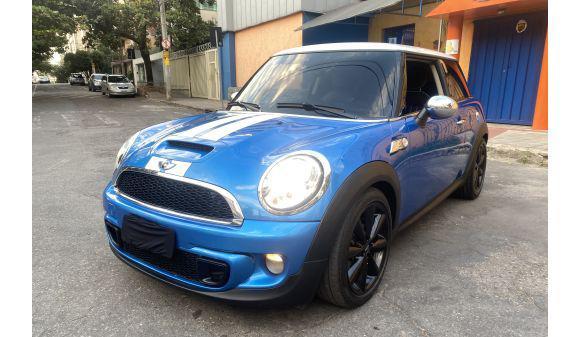 Mini cooper s 1.6 1.6 aut. 11/12 azul