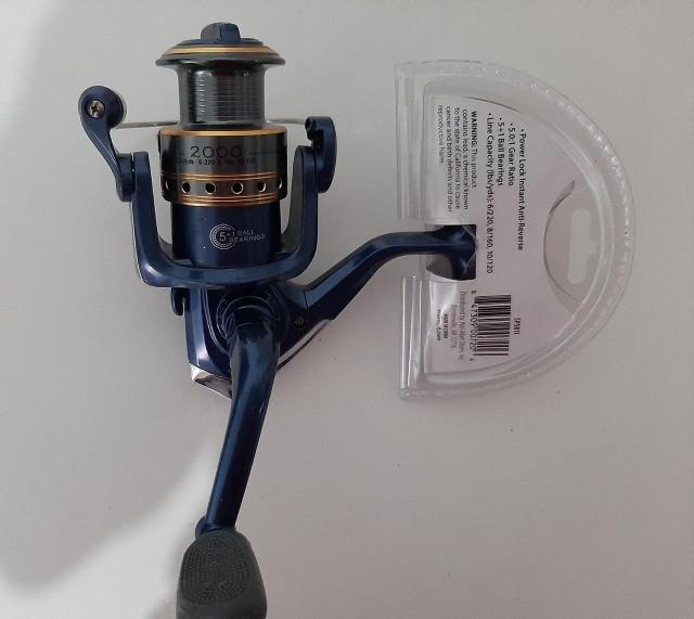Novo outdoor angler rd30 molinete 3 rolamentos 5.0: 1