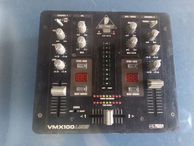 Pro mixer behringer vmx 100 usb
