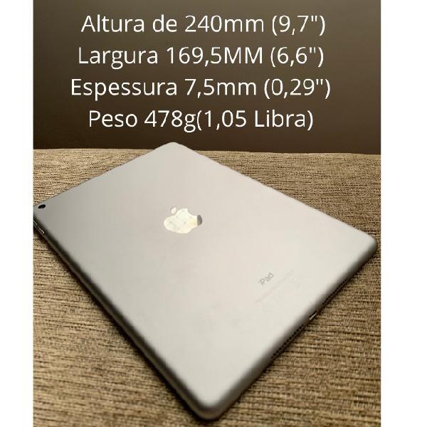 Ipad tablet apple 5º geração 128gb memória ios 14.6 semi