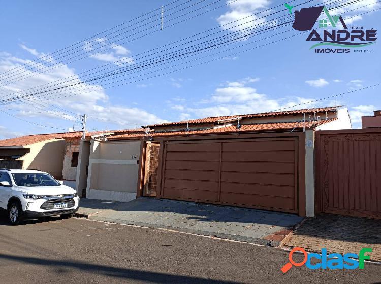 Casa, 220m², 3 dormitórios, no jardim ana carolina, piraju/sp
