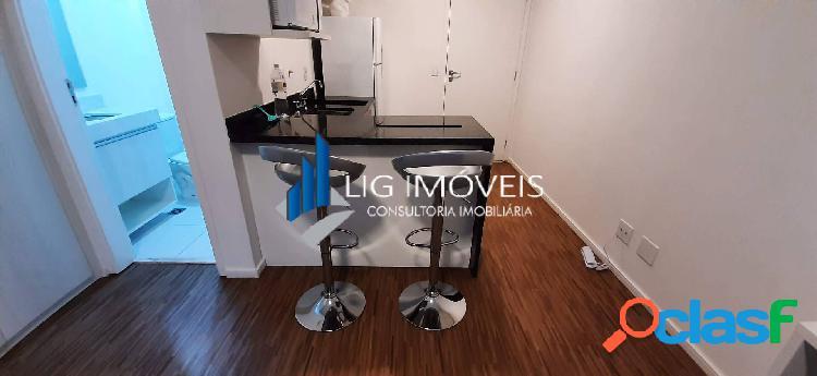 Alugo studio mobiliado em barueri - selenita bethaville - 26 m²