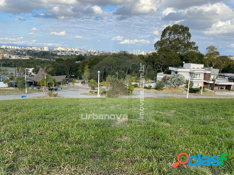 Terreno á venda condomínio reserva parathey urbanova com vista espetacular