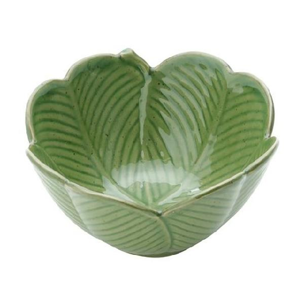 Centro de mesa banana leaf verde
