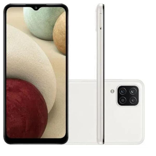 "Smartphone samsung galaxy a12 android tela infinita 6,5"" 64"