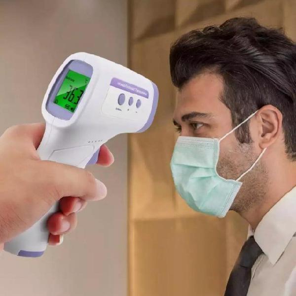 Termômetro laser medidor temperatura digital distância