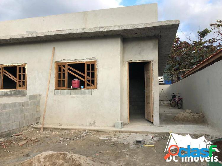 Casa nova com 2 dormitórios, 70m2, canto do mar - são sebastião/sp