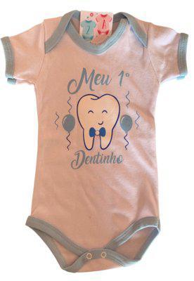 Body 2a moda infantil meu primeiro dentinho