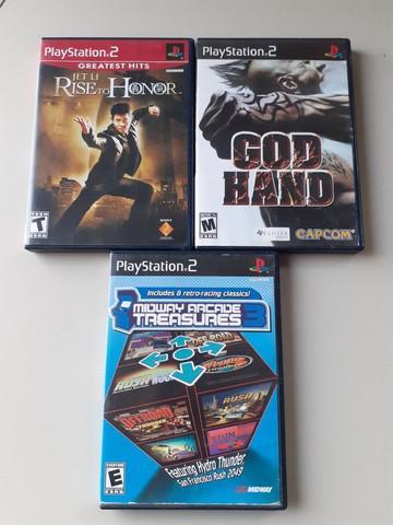 Jogos originais playstation 2
