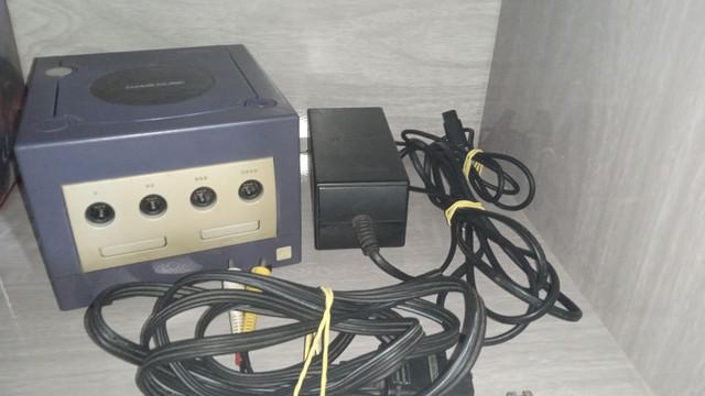 Nintendo gamecube gradiente original acessórios