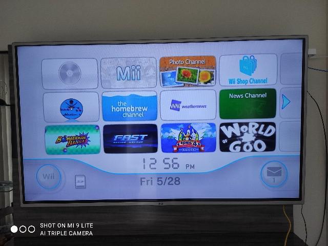 Nintendo Wii Preto Desb