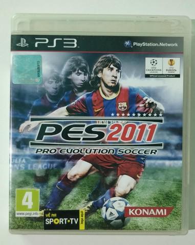 Pro evolution soccer 2011 playstation 3 ps3 jogos ps3 pes11