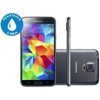 Smartphone desbloqueado samsung galaxy s5 sm-g900m preto com
