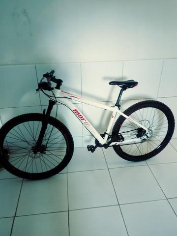 Bike mormaii 2.0 semi nova. parcelo no cartao