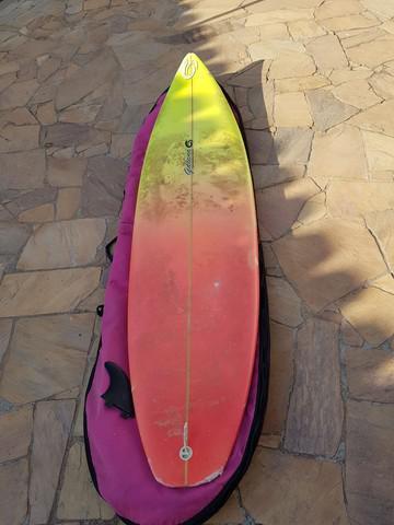 Prancha surf usada 7.0 pés