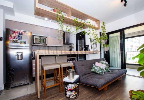 Apartamento com 1 quarto na rua doutor guilherme bannitz,
