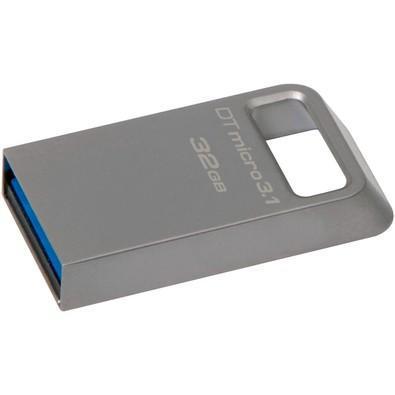 Pen drive kingston datatraveler usb 3.1 ultrapequeno 32gb -