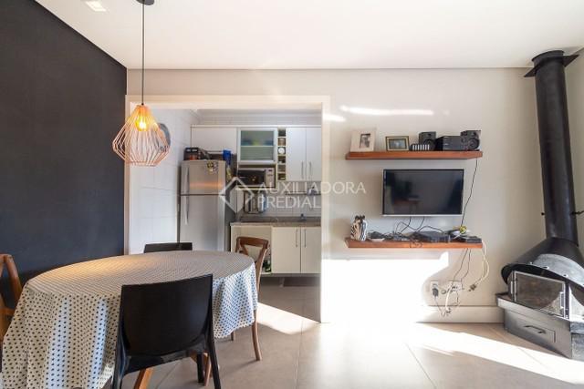 Apartamento à venda com 1 dormitórios em bela vista, porto