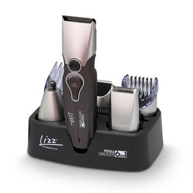 Kit masculino lizz, maquina de corte/acabamento total groom