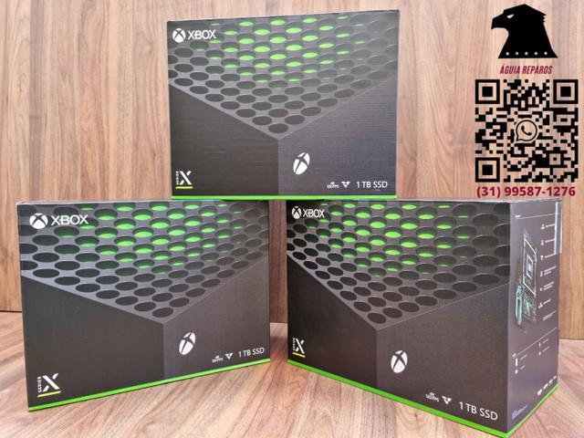 Xbox série x 1tb *lacrado* r$5099,00 ou 12x de r$462,50