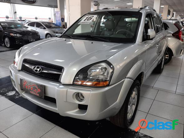 Hyundai tucson 2.0 16v flex aut. cinza 2016 2.0 flex
