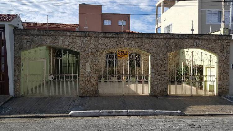Casa térrea de 3 quartos, 1 suíte, 3 vagas, bairro do