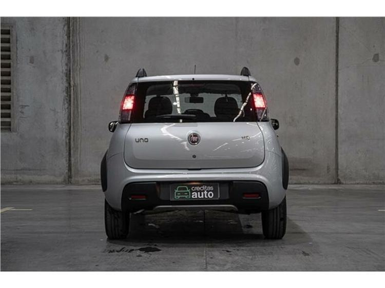 Fiat uno 1.0 firefly way prata 2020/2020 - barueri 1547674