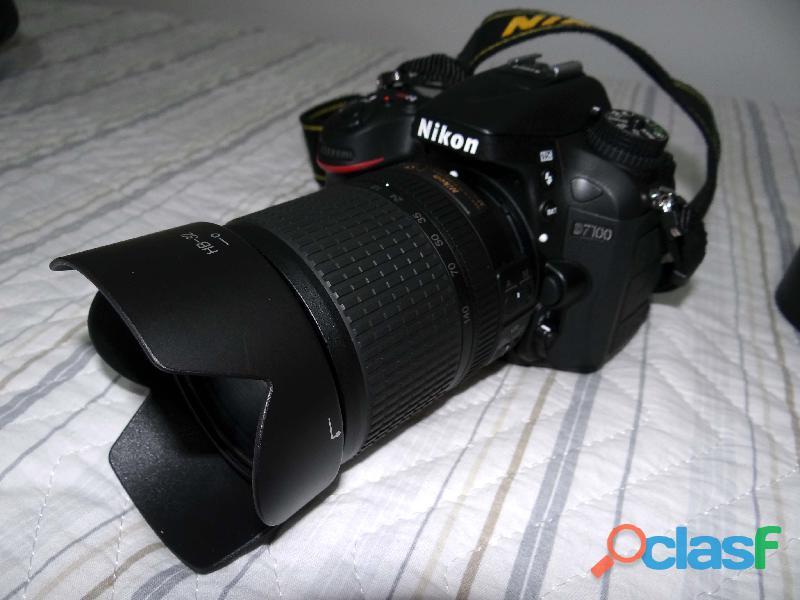 Câmera fotográfica semi nova NIKON D7100