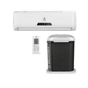 Ar condicionado split electrolux ecoturbo 18.000 btus frio -