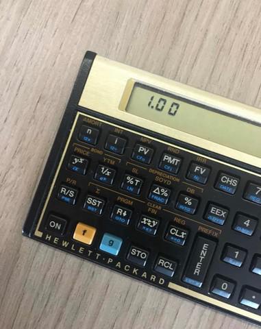 Calculadora financeira hp12c gold