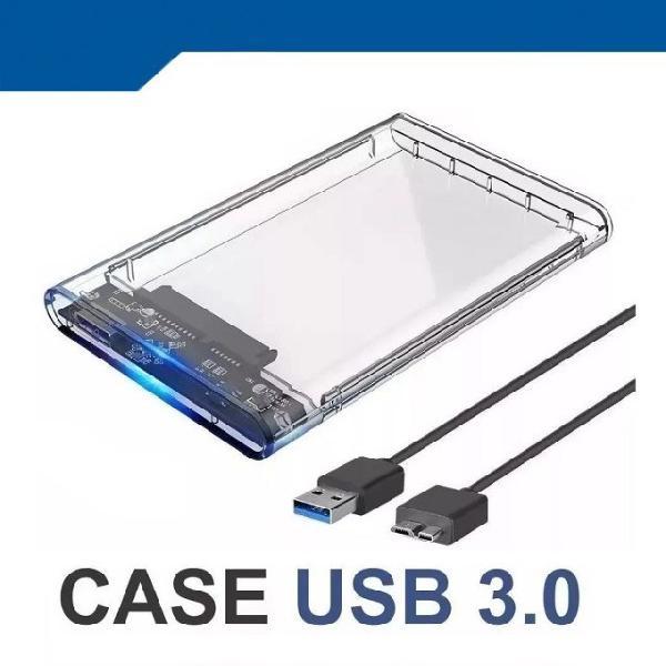 Case gaveta hd externo usb 3.0