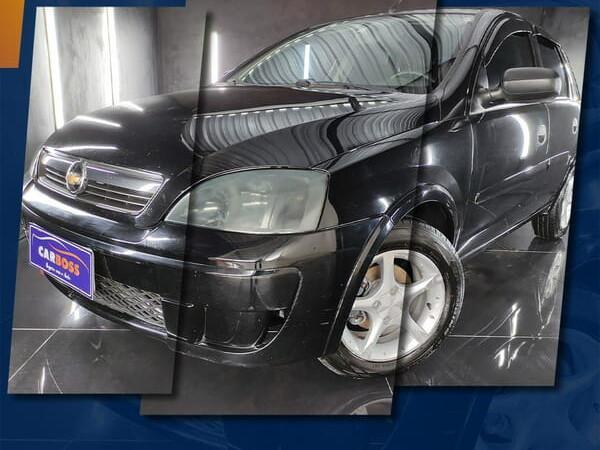 Chevrolet corsa 1.4 maxx 8v preto 2010/2011 - são josé dos