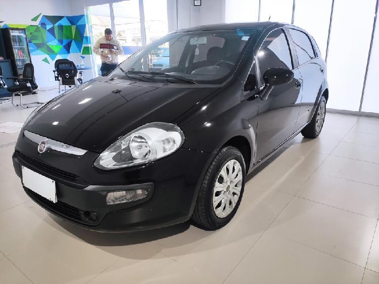 Fiat punto 1.4 attractive 8v preto 2017/2017 - goiânia