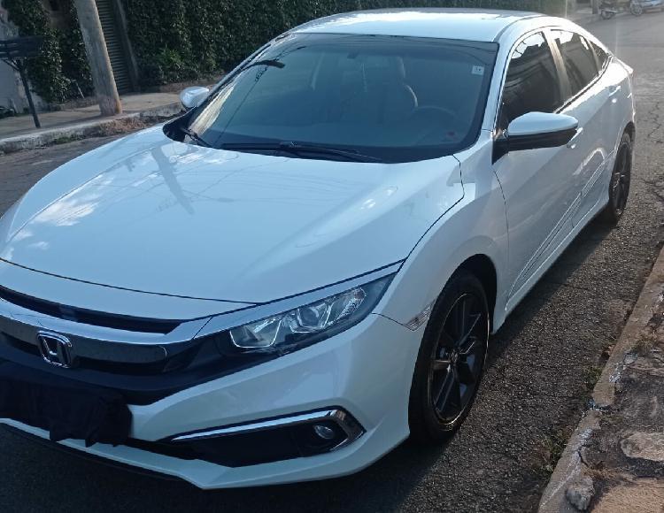 Honda civic 2.0 ex branco 2019/2020 - anápolis 1428875
