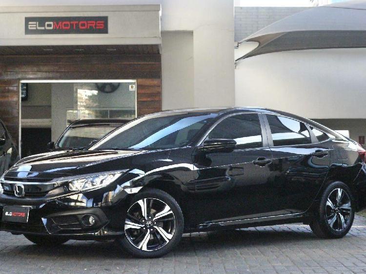 Honda civic 2.0 ex preto 2018/2018 - goiânia 1540953
