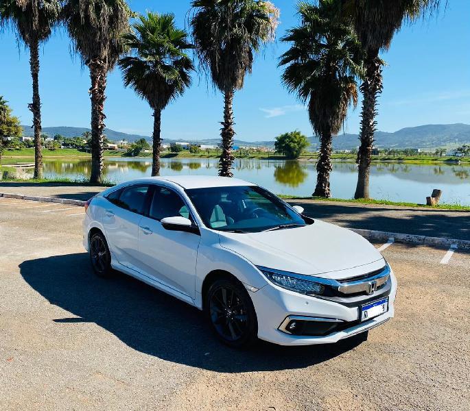 Honda civic 2.0 exl branco 2020/2021 - goianésia 1477042