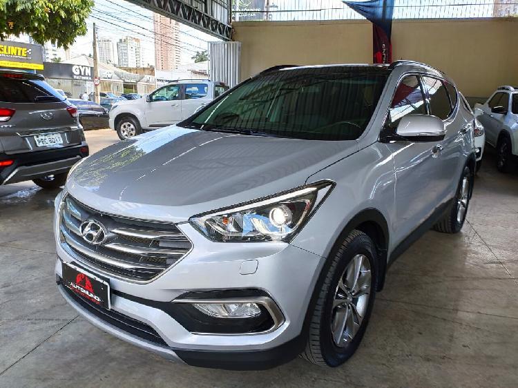 Hyundai santa fé 3.3 v6 prata 2017/2018 - goiânia 1474186