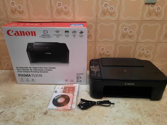 Impressora Multifuncional Canon TS 3110 com WI-FI