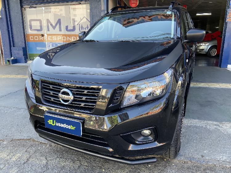 Nissan frontier 2.3 attack preto 2019/2019 - goiânia