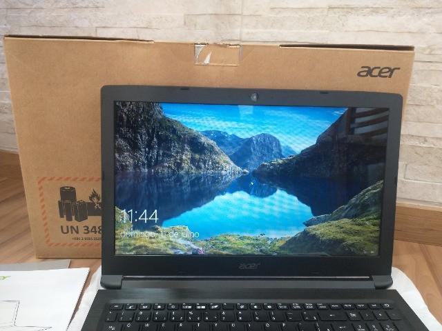Notebook *novo* acer aspire 3 a315 i3-8130u 8a geração +