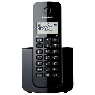 Telefone panasonic sem fio dect 6.0 com id de chamadas,
