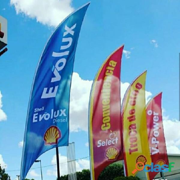 Wind banners (bandeiras personalizadas)