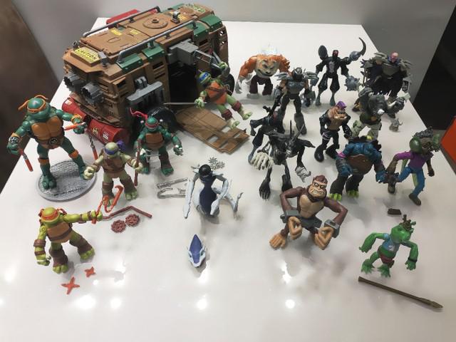 Coleção tartaruga ninja