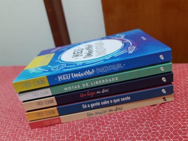Livros fred elboni