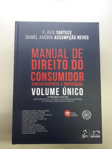 Manual de direito do consumidor - direito material e