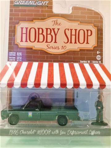 Miniatura greenlight 1986 chevrolet m-1008 the hobby shop -