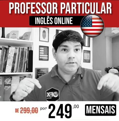 Professor particular de inglês online   última vaga